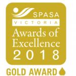 SPASA Victoria Excellence 2018 Logo