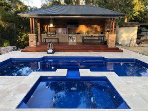 Fibreglass Pool and Spa Combo