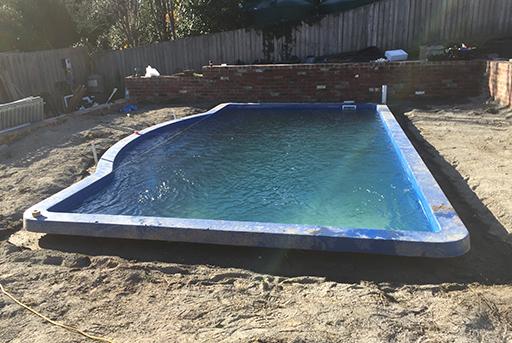 Pool construction Frankston South, Mornington Peninsula