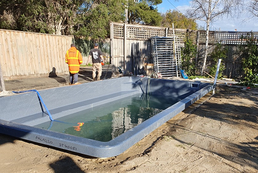 Caulfield Pool Build