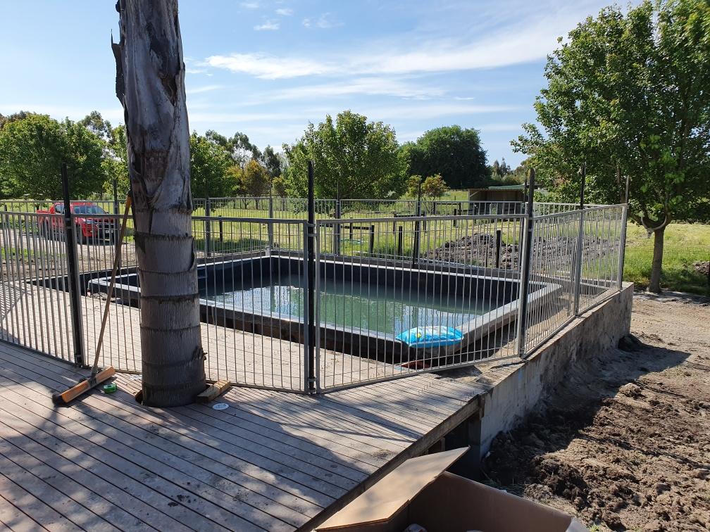 Elevated Fibreglass Pool